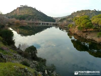 Garganta de Picadas - Vía Verde del Alberche; rutas a pie madrid; senderismo guadarrama